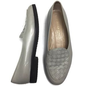 Bottega Veneta Woven Leather Loafer Size 37.5